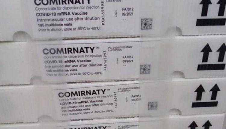 """Arrijnë mbi 11 mijë vaksina """"Pfizer"""" në Maqedoni"""