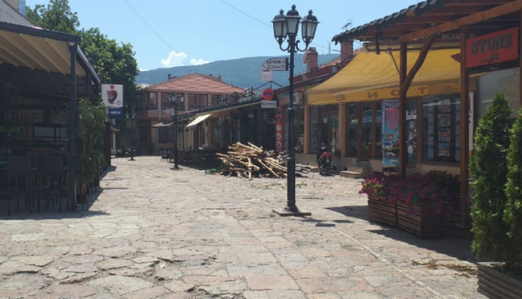 Pandemia dëmton zejtarët në Çarshi të Shkupit, kërkojnë ndihmë nga shteti