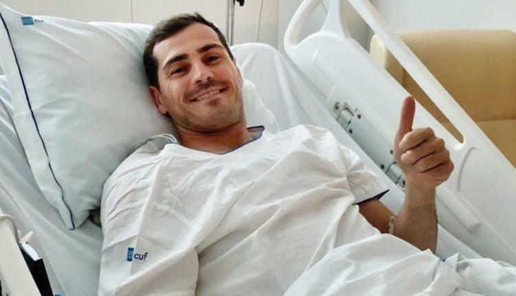Iker Casillas shtrihet serish në spital