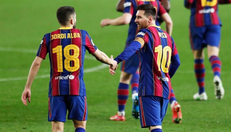 Jordi Alba: Shpresoj të mos jetë ndeshja e fundit në shtëpi e Messit