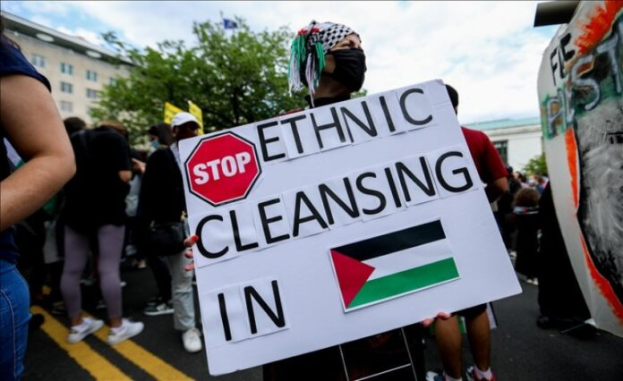 Mijëra persona marshojnë në rrugët e Washingtonit në mbështetje të Palestinës