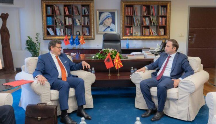 Osmani-Mazi, diskutuan për proceset e integrimit në BE