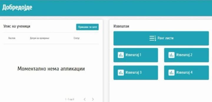 Regjistrimi online i shkollave fillore has në probleme, gjuha shqipe nuk figuron