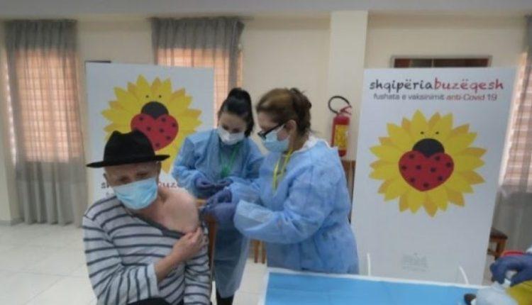 650 mijë persona të vaksinuar në Shqipëri