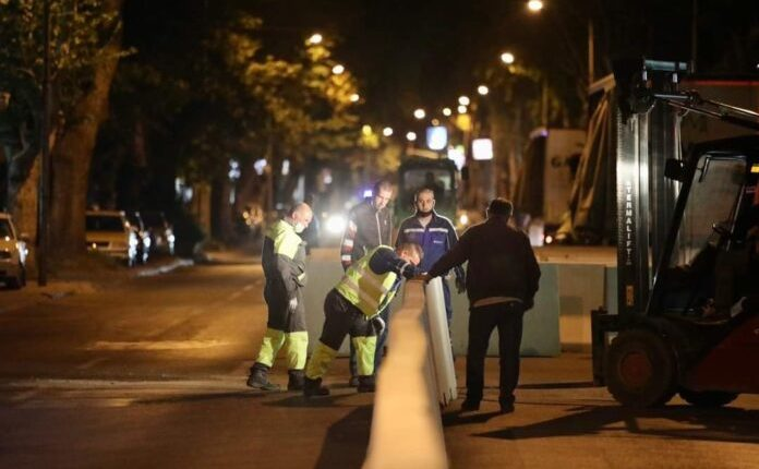 'Vendosja e bankinave të betonit', Komuna e Çairit: Për rrugë pa kaos dhe qytetarë të sigurt