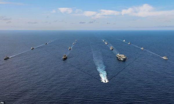 """NATO bën """"provat gjenerale"""" në Atlantik, para takimit Biden-Putin"""