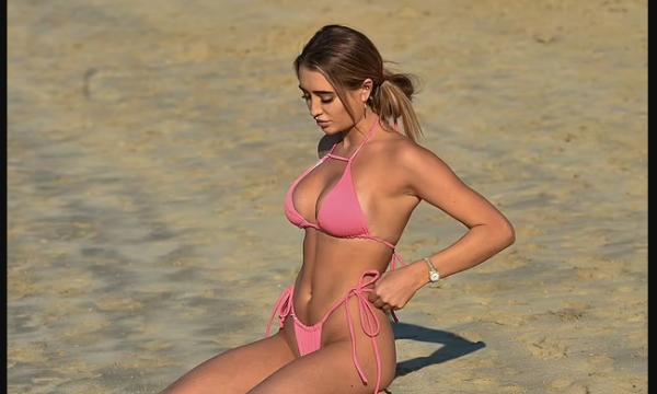 Georgia po e shijon jetën, nga Dubai shfaqet në Miami (FOTO)