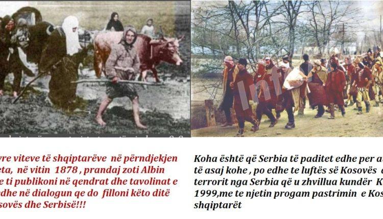 Letër e hapur  përfaqësuesve të Kosovës në dialogun me Serbinë: Albin, ndërro taktikë në dialog me Serbinë, kërko ndryshimin e kufijve deri te Molla e Kuqe!