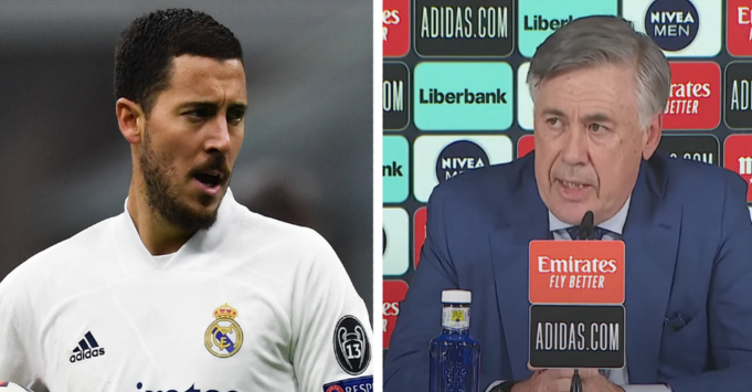 Hazard: Ardhja e Ancelottit është mirë për mua