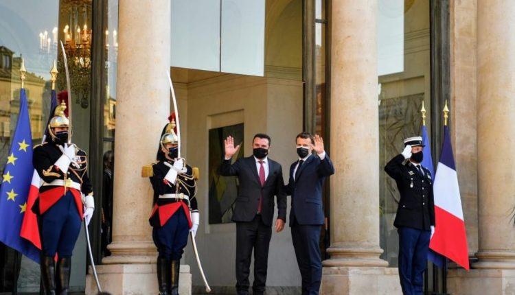 """Zaev: Franca, """"motori"""" i zgjerimit të BE-së me Ballkanin Perëndimor"""