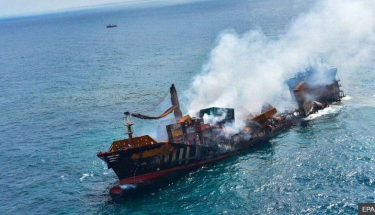 Një anije me mallra ka rrezik të fundoset në det, ekziston rreziku për katastrof natyrore