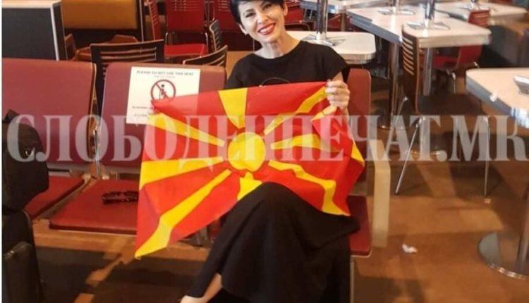 Edhe Fatime Fetai do të bëjë tifo për Maqedoninë e Veriut në Bukuresht