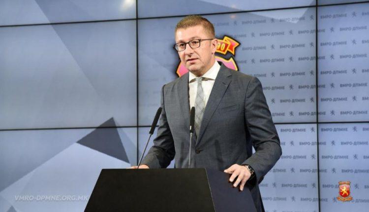 Mickoski: Zaev në bisedime të fsheha për tradhti të re kombëtare