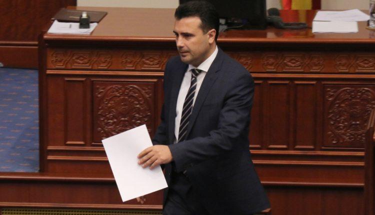 Zaev: As kjo as ndonjë qeveri tjetër nuk ka të drejtë të negociojë për gjuhën maqedonase dhe identitetin maqedonas