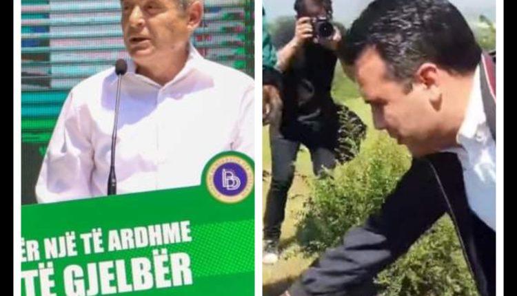 Ali Ahmeti shpall agjendën e gjelbër, Zaevi fillon punën  me lopatë (FOTO)