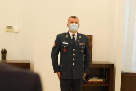 Grubi: Urime detyrën e re Gjeneral Besnik Emini