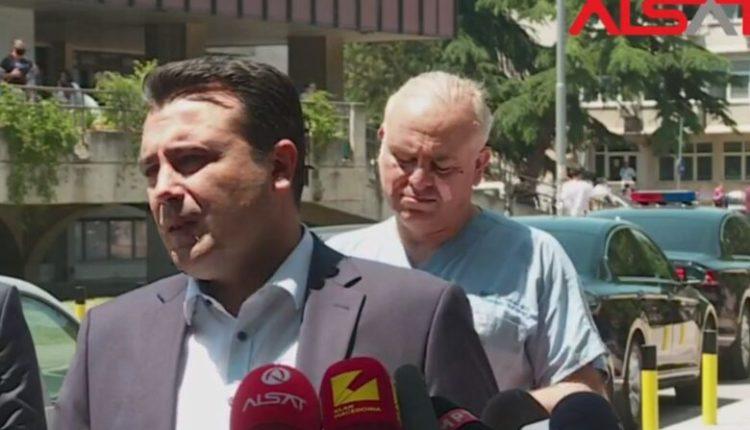 """Zaev: Nëse """"E Majta"""" shtyhet me VMRO-në për bllokime të ligjeve, rezultatet do t'i marrin në zgjedhje"""