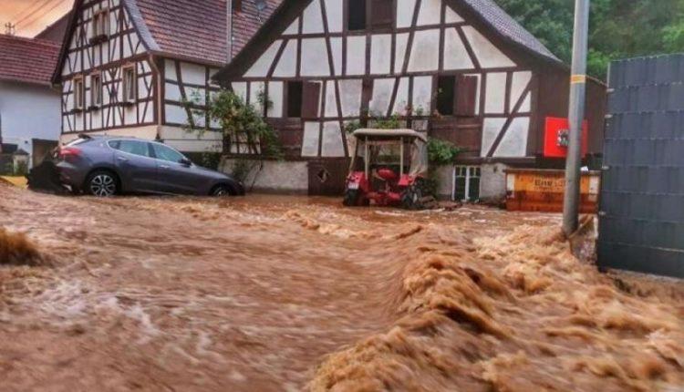 Vërshime në Gjermani, një i vdekur