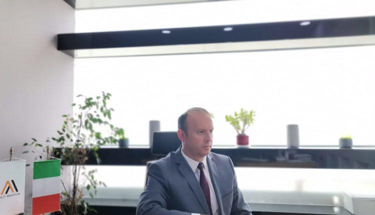 Kryetari i Alternativës, Afrim Gashi në bashkëbisedim virtual me Ambasadorin Italian të vendit, z. Andrea Silvestri