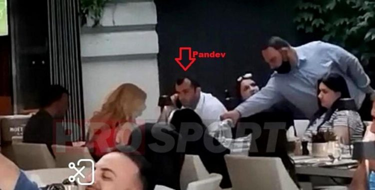 Pandev dhe Angellovski shkelin protokollet, mediat rumune i fotografojnë ne restorant