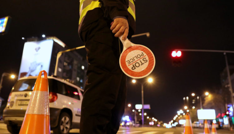 MPB regjistron 187 kundërvajtje në Shkup, 46 për tejkalim shpejtësie