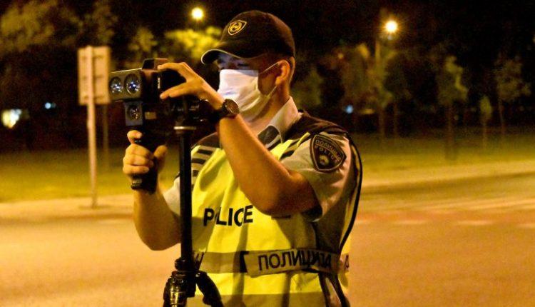 Kumanovë, 118 gjoba për vozitje të shpejtë