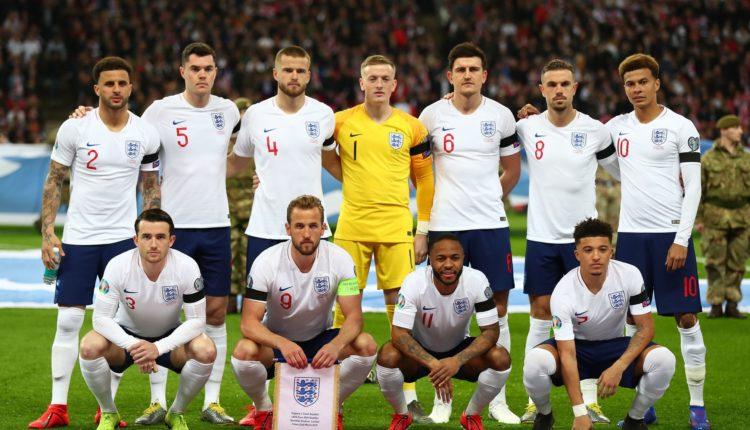 Zyrtare: Anglia publikon listën e lojtarëve për EURO2020
