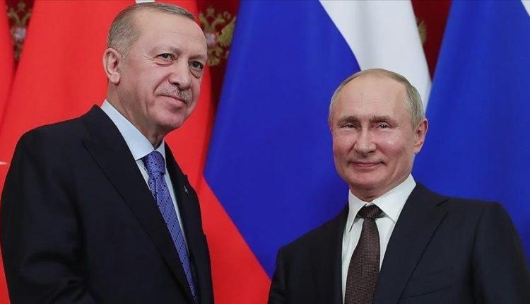 Erdogan diskuton marrëdhëniet dypalëshe dhe zhvillimet rajonale me homologun rus