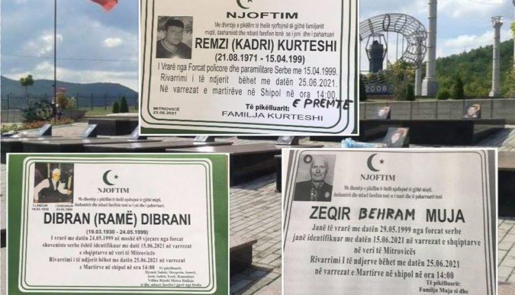Sot varrosen katër të zhdukurit nga lufta në Kosovë