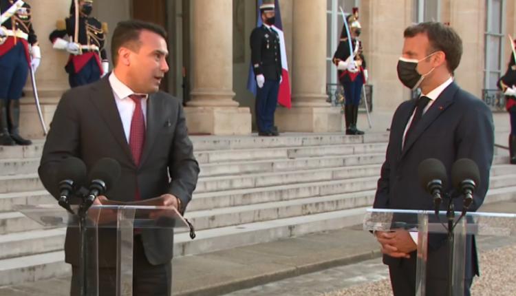 Macron i mprehtë: Pa humbur kohë, Maqedonia duhet të nisë negociatat me BE-në