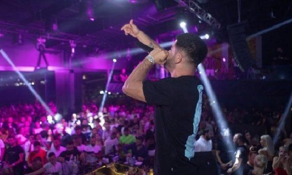 Publikohet video: Sherr me grushte në koncertin e Noizyt
