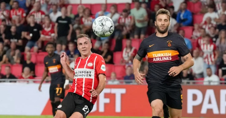 "PSV Aindhoven ""demolon"" Gallatasarain, befason Kairati"