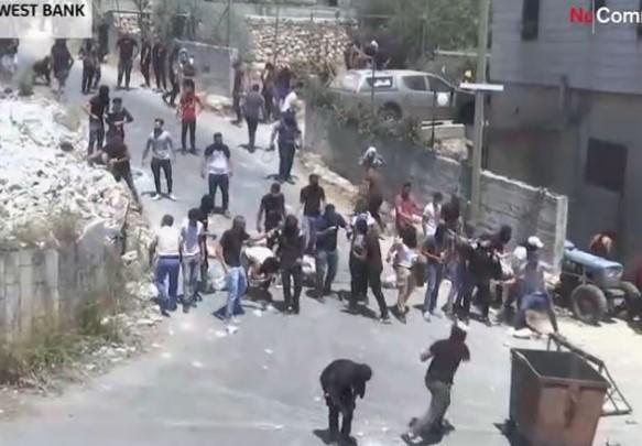 Disa të plagosur në përleshjet mes palestinezëve dhe ushtrisë izraelite