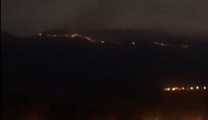 Zjarr i madh në Karaburun të Vlorës, kërkohet ndërhyrja e ushtrisë