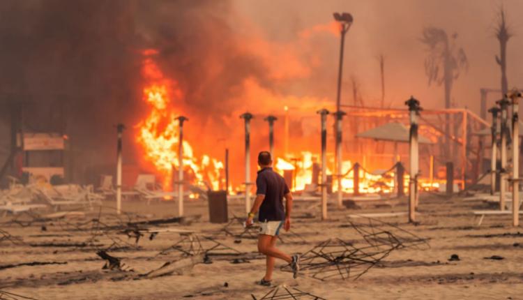 Zjarre në Itali, Spanjë dhe Turqi (VIDEO)