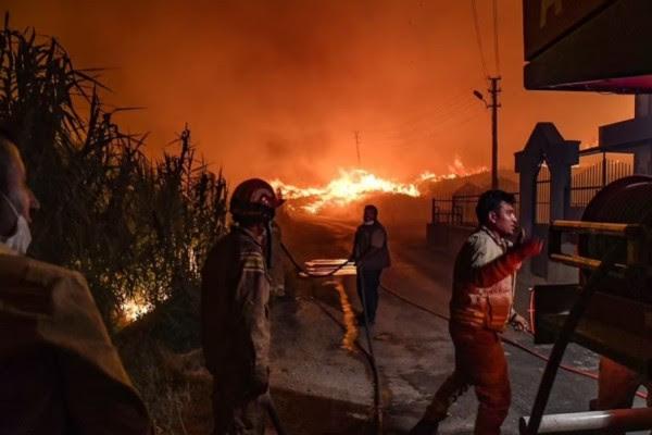 180 të lënduar nga zjarret në Turqi