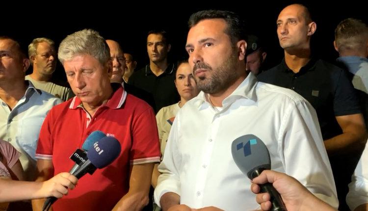 Zaev: Helikopterët s'mund të veprojnë natën, s'mund të rrezikojnë qytetarët