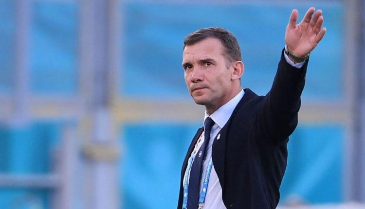 Larguan Shevchenkon, Ukraina tenton ish trajnerin e Shqipërisë