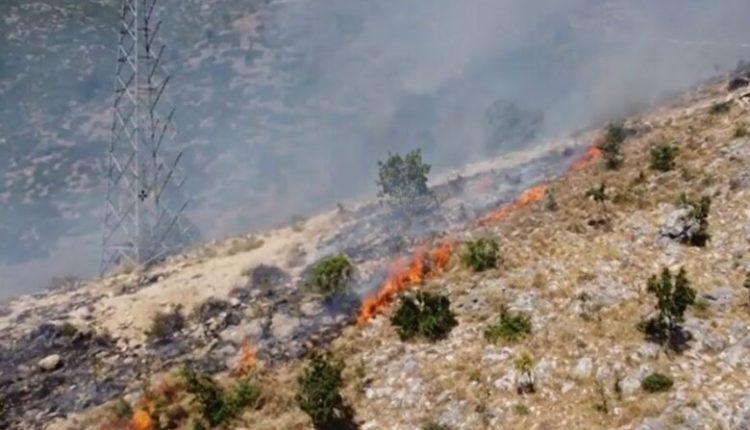 Vatra aktive të zjarrit në Shqipëri e Kosovë