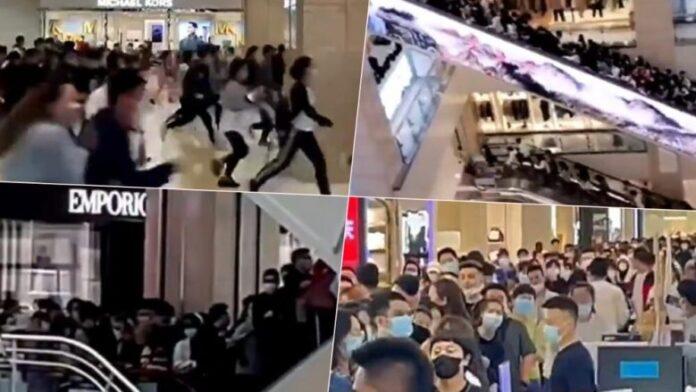 """E pa parë: Kinezët """"pushtojnë"""" qendrën tregtare për të blerë një iPhone 13 (VIDEO)"""