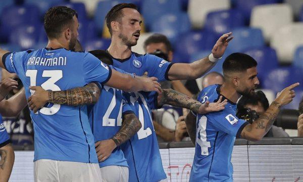 Napoli e mund Cagliarin dhe e forcon kreun e Serie A, me Rrahmanin titullar