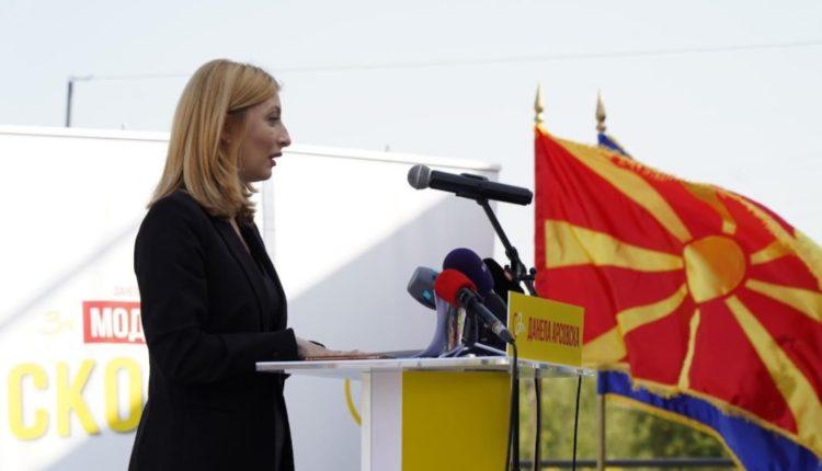 Danela Arsovska: Nuk kandidoj për politikane, por për menaxhere të qytetit!