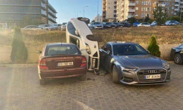 Si ndodhi aksidenti i çuditshëm në Prishtinë