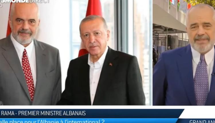 Shqipëria bashkëpunon me Turqinë në dëm të BE-së? Rama për TV5MONDE: Kjo është bla-bl-bla…