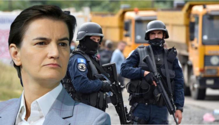 Kryeministrja serbe: Prishtina po do të na provokojë që ne të përgjigjemi