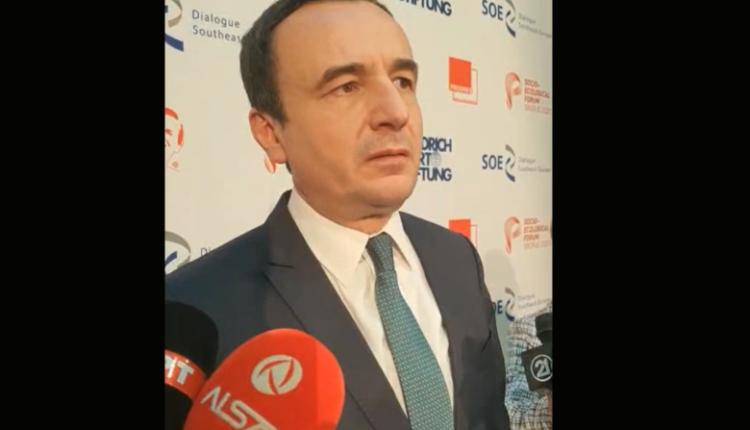 Kurti: Serbia dëshiron të provokojë konflikt ndërkombëtarë