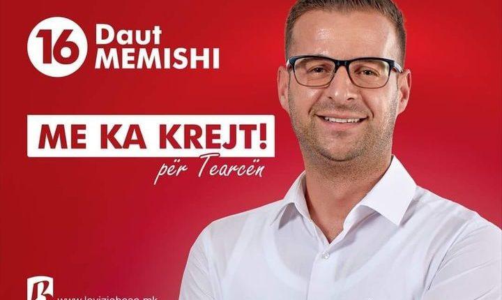 Daut Memishi kandidati nga BESA, njeriu i duhur për Tearcën