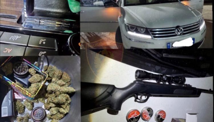 Tre të arrestuar për drogë në Durrës