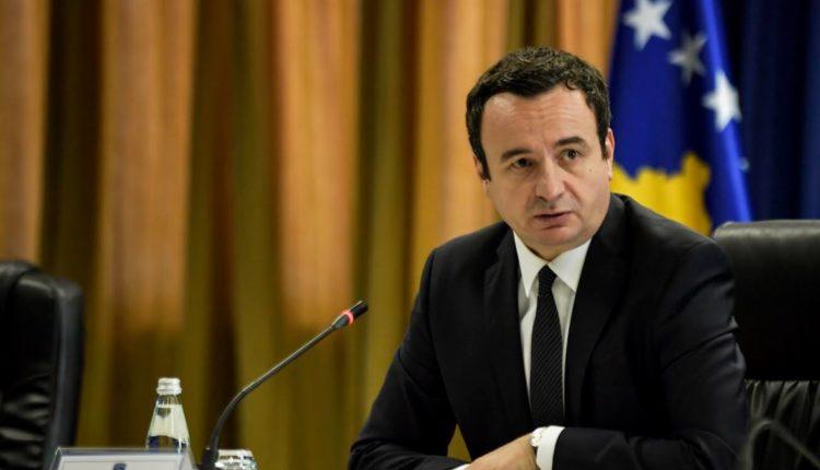 Kurti thirrje ndërkombëtarëve: Mos i mbyllni sytë para regjimit në Serbi