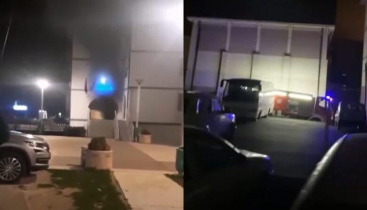 Video-pamje nga incidentet në veri të Kosovës